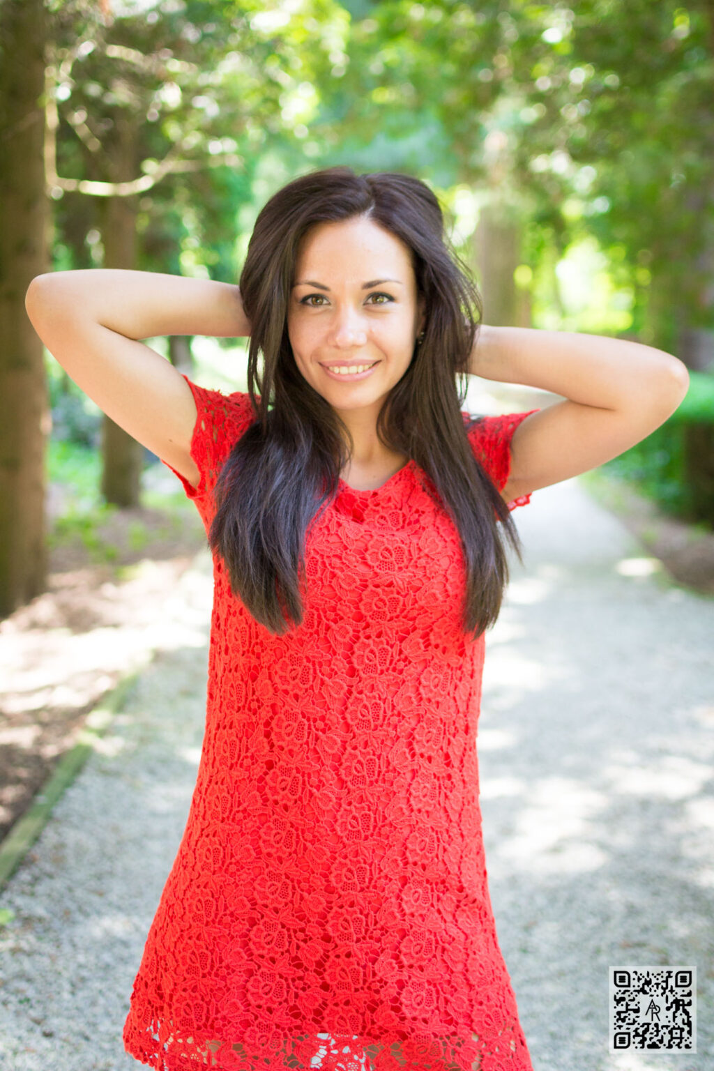 Magda Aloje – Red Dress