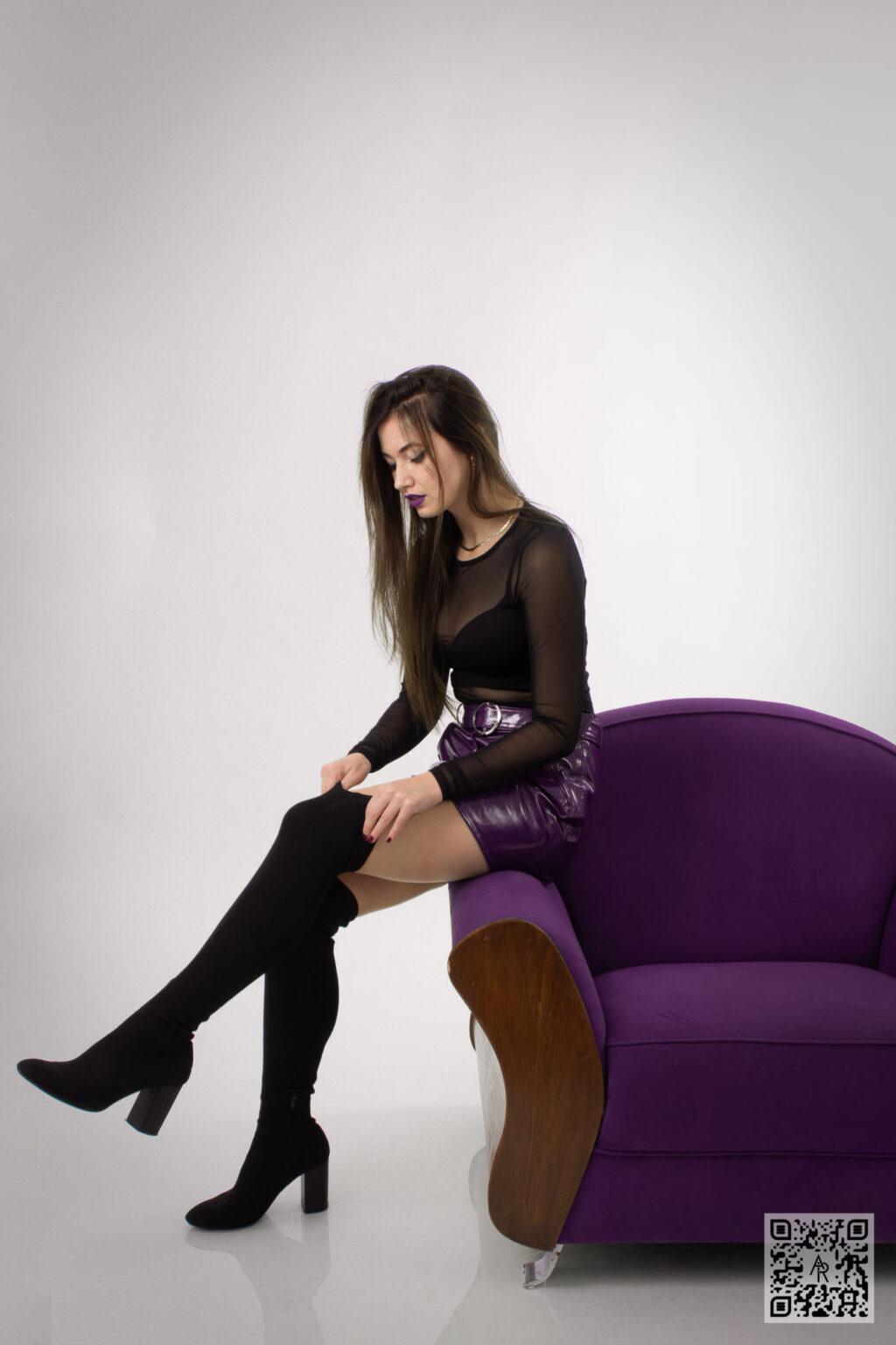 Timea Szabo – Purple