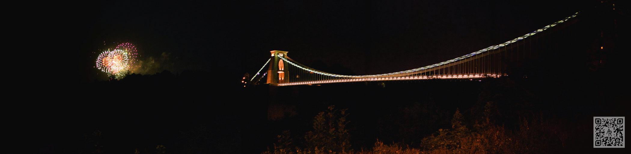 Clifton Suspension Bridge Fireworks